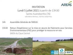 invitation à l'AG 2021 de l'AREAS